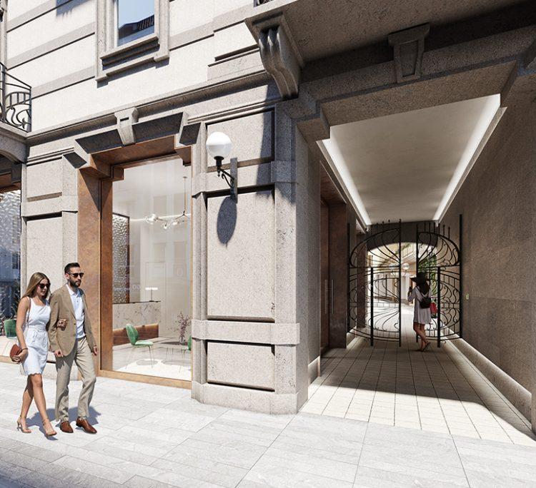 Ingresso Corti Segrete Corso Buenos Aires Milano