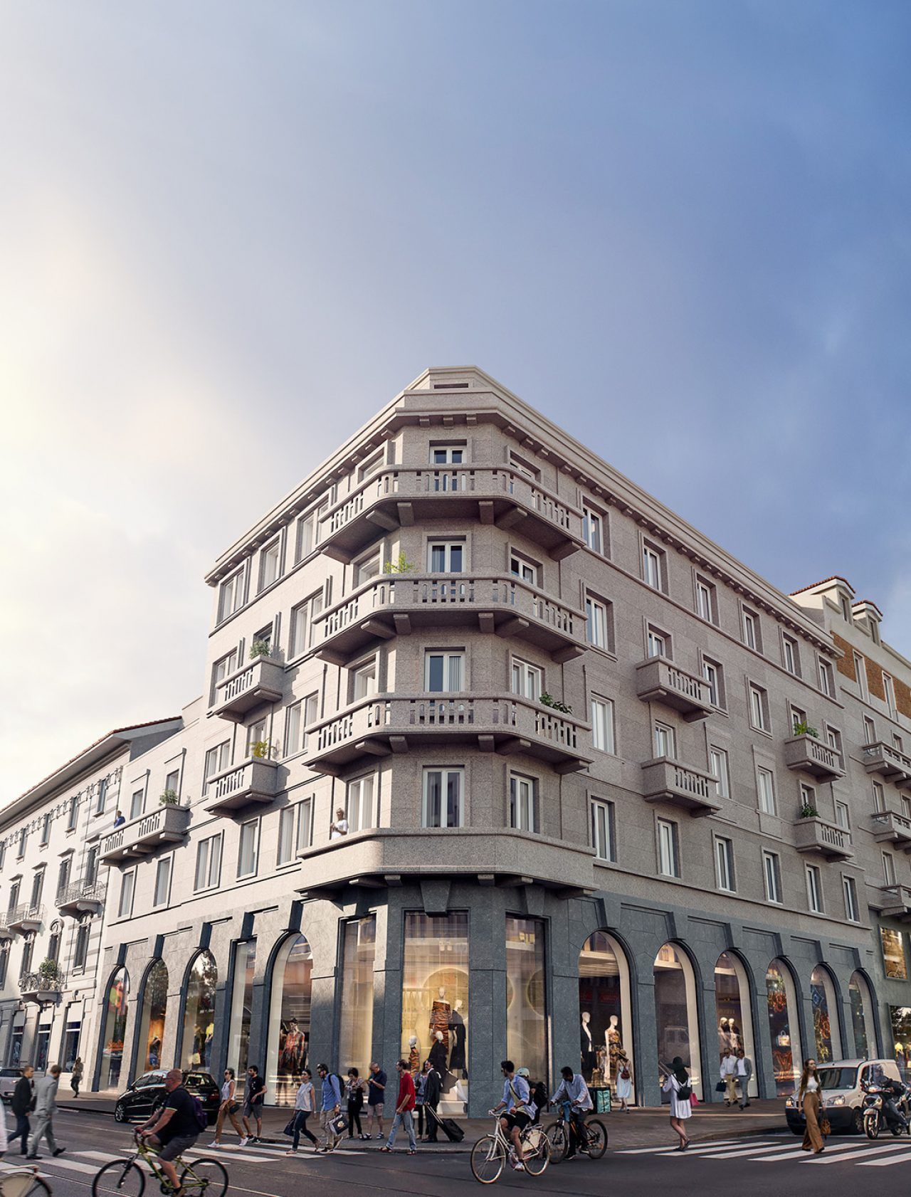 Corti Segrete Appartamenti Corso Buenos Aires Milano
